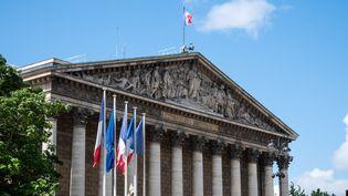 L'Assemblée nationale, le 8 juillet 2021 à Paris. (RICCARDO MILANI / HANS LUCAS / AFP)