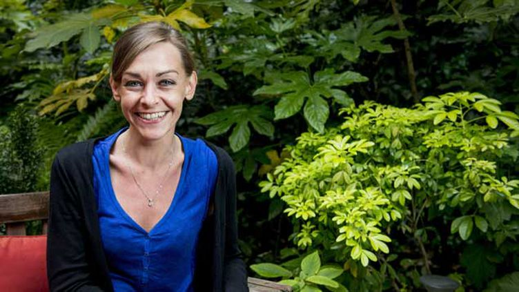 (Agnès Martin-Lugand est aussi psychologue. © Benjamin Girette/IP3 PRESS/MAXPPP)
