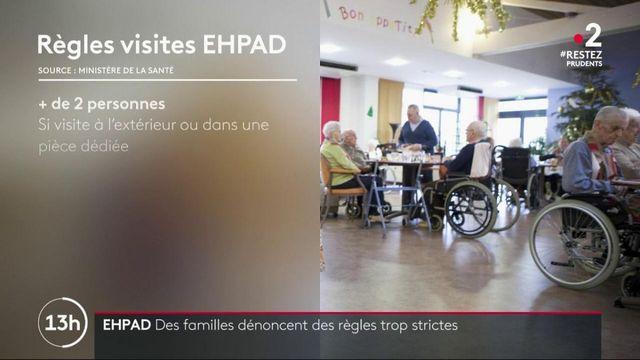 Ehpad : des familles dénoncent des règles trop strictes