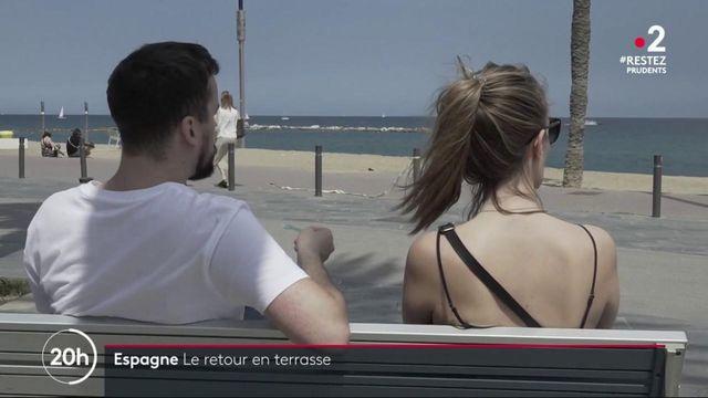 Déconfinement : l'Espagne rouvre ses cafés, restaurants et parcs