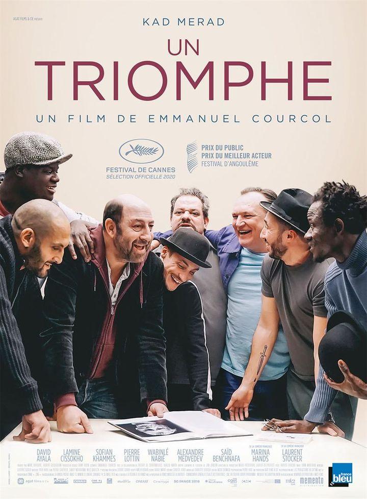 """Affiche du film """"Un Triomphe"""" d'Emmanuel Courcol (MEMENTO FILMS)"""