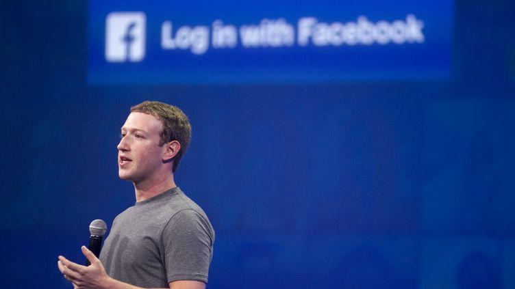 Mark Zuckerberg, PDG de Facebook, à Saint-Francisco, le 25 mars 2015. (Photo d'illustration) (JOSH EDELSON / AFP)