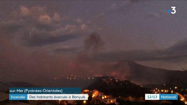 Pyrénées Orientales : des habitants évacués à Banyuls après un incendie