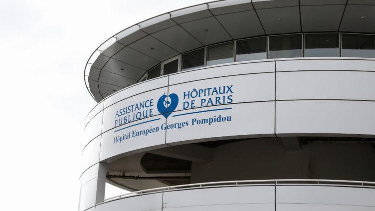 L'hôpital européen Georges Pompidou, de l'Assistance Publique des Hôpitaux de Paris (AP-HP) le 12 avril 2020. (LAURE BOYER / HANS LUCAS / AFP)