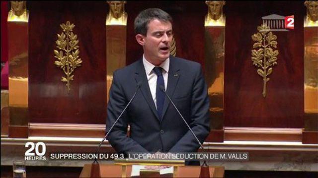 Primaire de la gauche : Manuel Valls veut supprimer le 49-3