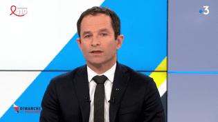 DIMANCHE EN POLITIQUE / FRANCE 3. Benoît Hamon (DIMANCHE EN POLITIQUE / FRANCE 3)
