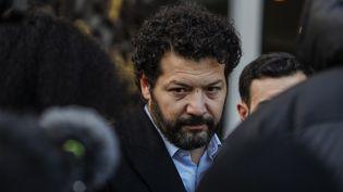 Me Arie Alimi,avocat au barreau de Paris et membre de la Ligue des Droits de l'Homme, le 12 janvier 2020. (GEOFFROY VAN DER HASSELT / AFP)