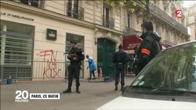 FN : incendie criminel au QG de campagne de Marine Le Pen