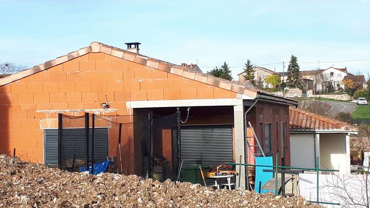 Le domicile de la mère de famille de 33 ans portée disparue,Delphine Jubillar à Cagnac-les-Mines (Tarn). (PASCALE DANYEL / RADIOFRANCE)