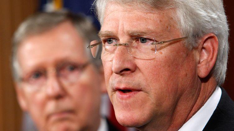 Le sénateur républicain Roger Wicker, le 12 janvier 2010 à Washington (Etats-Unis). (ALEX WONG / GETTY IMAGES NORTH AMERICA)