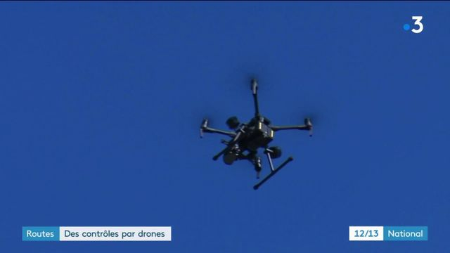 Essonne : des policiers utilisent des drones pour contrôler les deux-roues