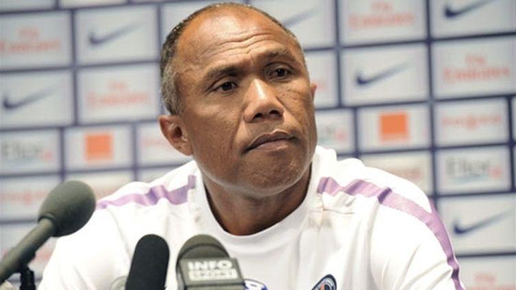 L'entraîneur du PSG Antoine Kombouaré