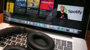Spotify, plateforme de streaming musical  (Mitsuru Tamura/AP/SIPA)