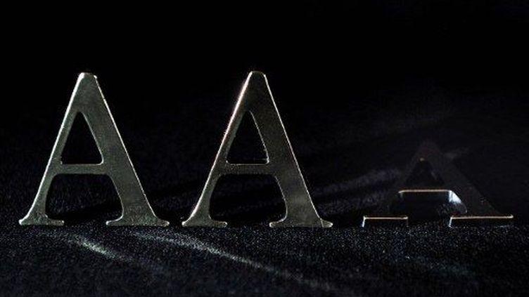 La France perd son triple A (PHILIPPE HUGUEN / AFP)