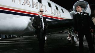 Karl Lagerfeld, à Santa Monica, en Californie, lors du Chanel Cruise Show le 18 mai 2007. (MARK MAINZ / GETTY IMAGES NORTH AMERICA)