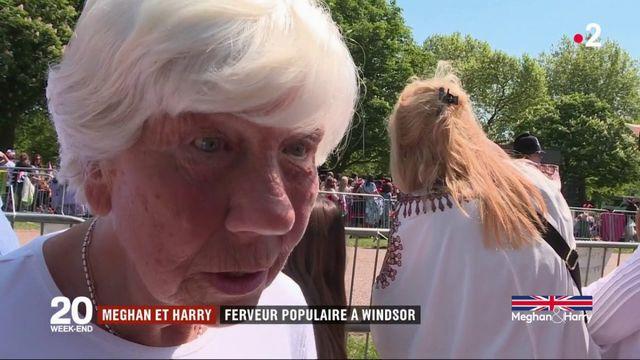 Mariage de Harry et Meghan : ferveur populaire à Windsor
