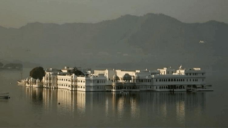 Le Palais de lac, ancienne résidence d'été des maharajas d'Udaipur (Inde)  (France 2 / Culturebox)