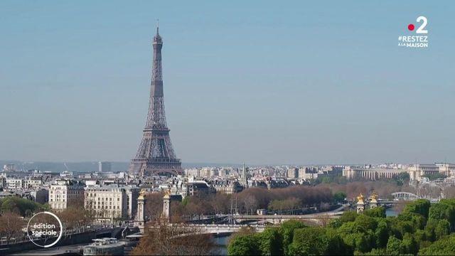 Paris : pendant le confinement, le calme plat dans la ville