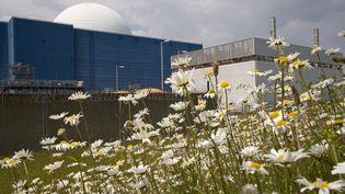 La centrale nucléaire de Sizewell (Grande-Bretagne). (ERNIE JANES / MAXPPP)