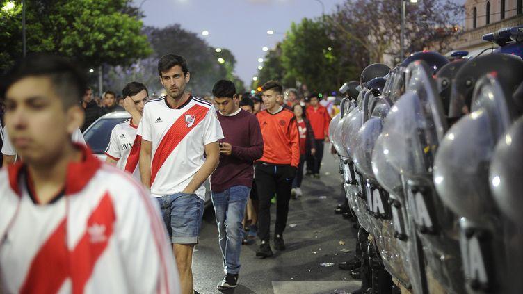 River-Boca, choc sous tension (JAVIER GONZALEZ TOLEDO / AFP)
