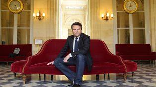 Le député Thomas Thévenoud pose, le 1er avril 2016 à l'Assemblée nationale à Paris. (BERTRAND GUAY / AFP)