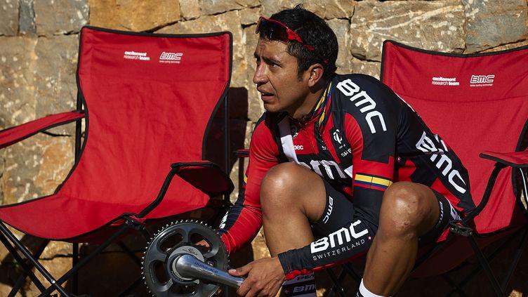 Darwin Atapuma, le coureur colombien de la BMC (MANUEL QUEIMADELOS              / BELGA MAG)