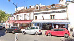 """Le restaurant """"Aux bons amis"""" dans le 19e arrondissement de Paris. (GOOGLE STREET VIEW)"""