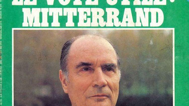 """Une du magazine """"Le Nouvel Observateur"""" du 18 au 25 avril 1981. (Le Nouvel Observateur)"""
