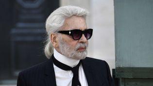 Le créateur Karl Lagerfeld en juillet 2018.  (Alain JOCARD / AFP)