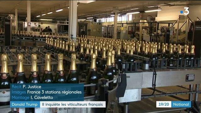 Donald Trump inquiète les viticulteurs français