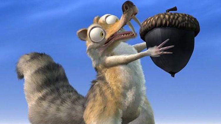 """Scrat, l'écureuil fou de glands, personnage emblématique de la franchise """"L'Age de glace""""  (Twentieth Century Fox France)"""