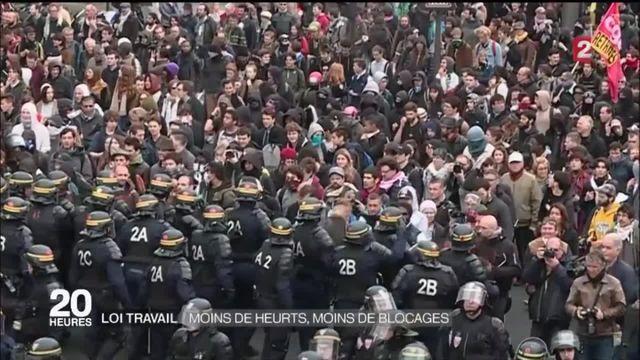 Loi Travail : regain de mobilisation dans les rues