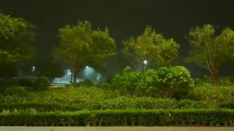 L'ouragan Laura a atteint les terres américaines. 15 ans après Katrina, qui avait dévasté la ville de La Nouvelle-Orléans, ce nouveau phénomène météorologique pourrait être l'une des pires tempêtes de l'histoire du pays. Le Texas et la Louisiane sont en alerte maximale. (France 3)