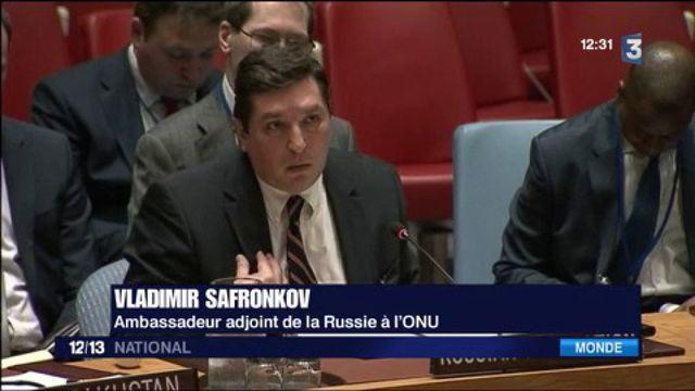 Syrie : la Russie oppose son veto à la résolution de l'ONU