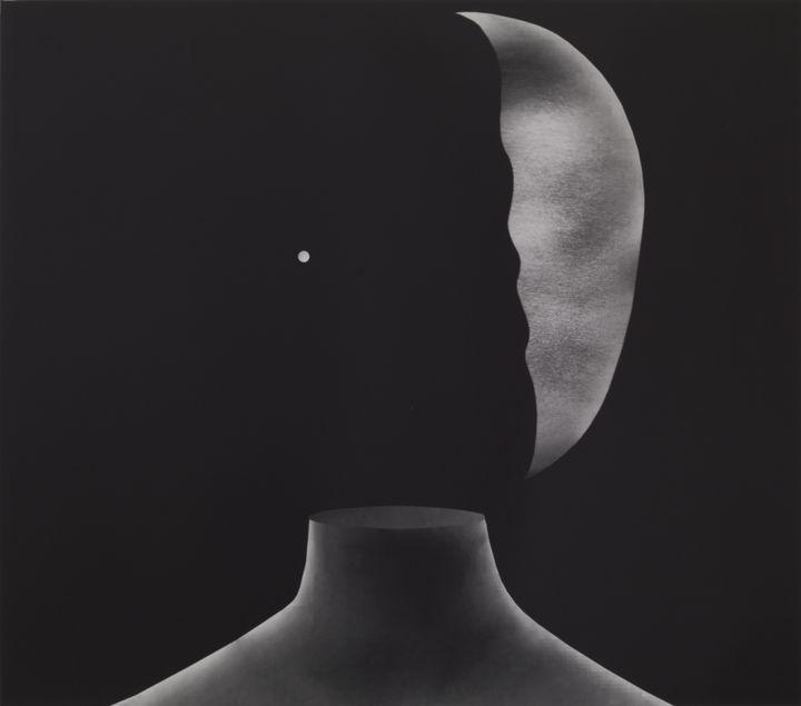 David Lynch, Head #5  (David Lynch, Courtesy Galerie Item, Paris)
