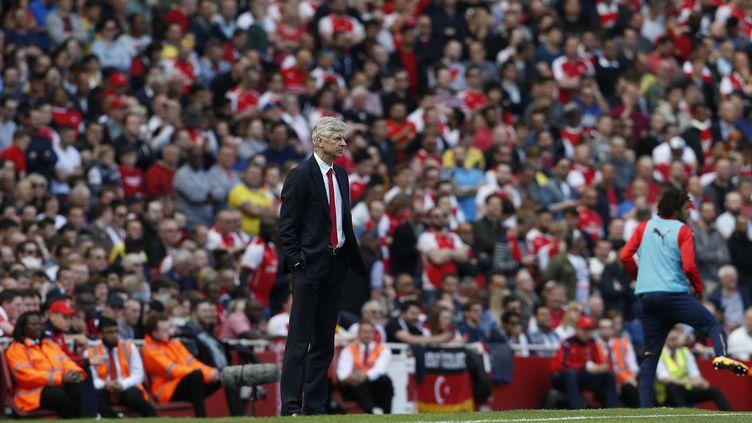 Arsène Wenger vit-il sa dernière saison à l'Emirates Stadium ? (IAN KINGTON / AFP)