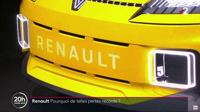 Crise économique : Renault a perdu 8 milliards d'euros en 2020