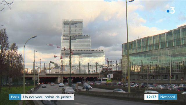 Paris: le nouveau palais de justice ouvre ses portes