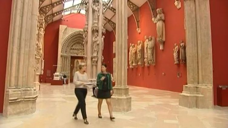 capture d'écran - septembre 2013 -Cité de l'Architecture à Paris ( FRANCE 2 / FRANCETV INFO)