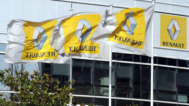 Le siège de Renault, à Boulogne-Billancourt (Hauts-de-Seine), en mars 2011. (ERIC PIERMONT / AFP)