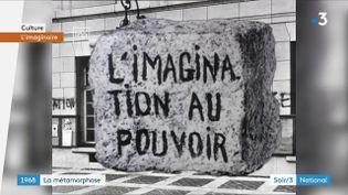 Un des slogans du mouvement deMai 68 (France 3)
