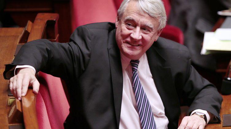 Le député UMP Claude Goasguen, à l'Assemblée nationale, le 29 janvier 2013. (JACQUES DEMARTHON / AFP)
