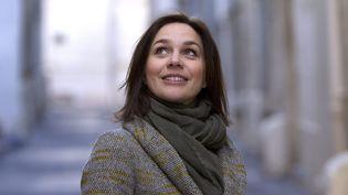 L'ancienne patineuse Nathalie Péchalat à Montpellier (Hérault), le 13 février 2019. (MAXPPP)