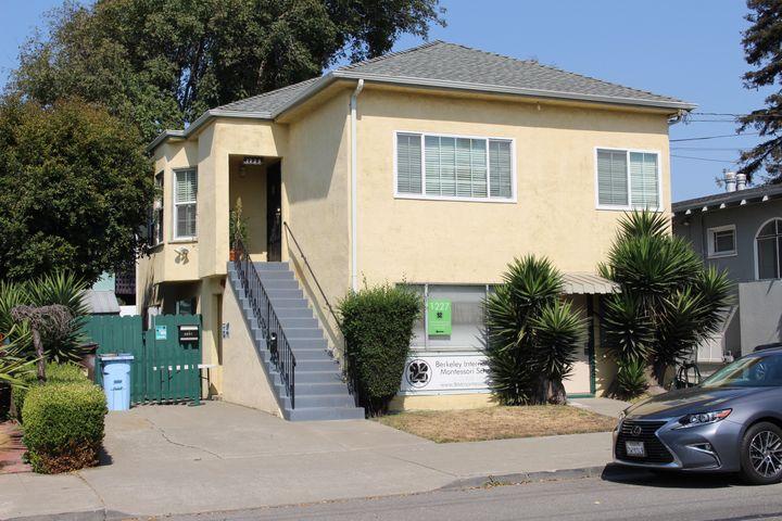 L'ancienne maisonde Kamala Harris à Berkeley (Etats-Unis), le 28 septembre 2020. (ROBIN PRUDENT / FRANCEINFO)