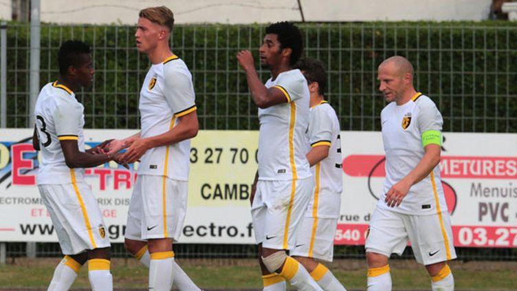 Les joueurs de Lille pendant leur préparation estivale