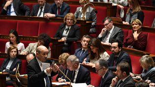 L'Assemblée nationale, le 30 janvier 2019 à Paris. (ALAIN JOCARD / AFP)