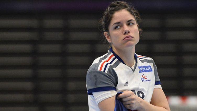 La joueuse tricolore Chloé Bulleux