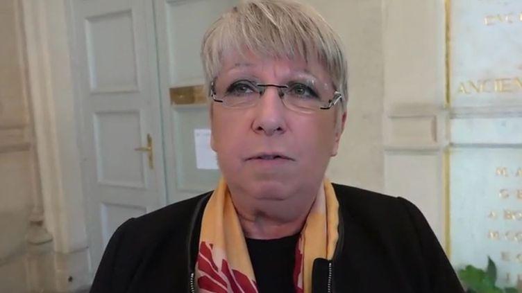 Capture d'écran d'une interview de la députée LREM Claire O'Petit, publiée par le Huff Post, le 24 juillet 2017. (HUFF POST)