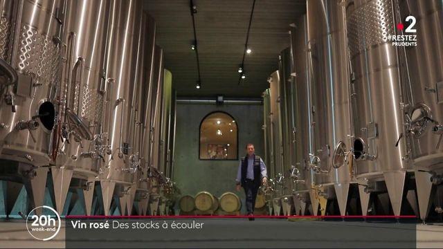 Vin rosé : des stocks à écouler