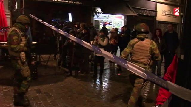 Belgique : une vaste opération anti-terroriste lancée à Bruxelles